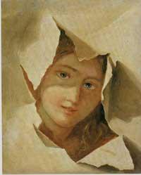 Carta-squarciata, ca1840-50, Rancate, Pinacoteca Zuest