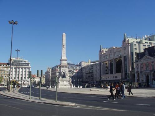 Praça de Restauradores & Hotel Eden