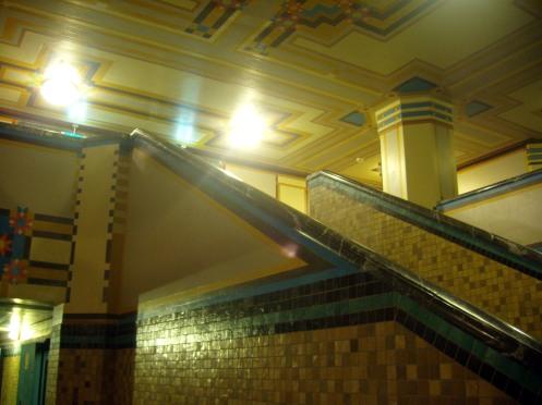 Stadsarchief, trap in vm kluis