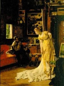 Stevens L'Atelier 1869