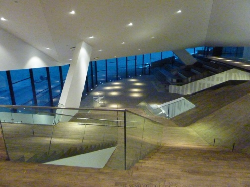 Atrium, high angle, EYE Film Institute