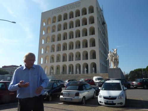 2010 Romanità EUR Palazzo della Civiltà