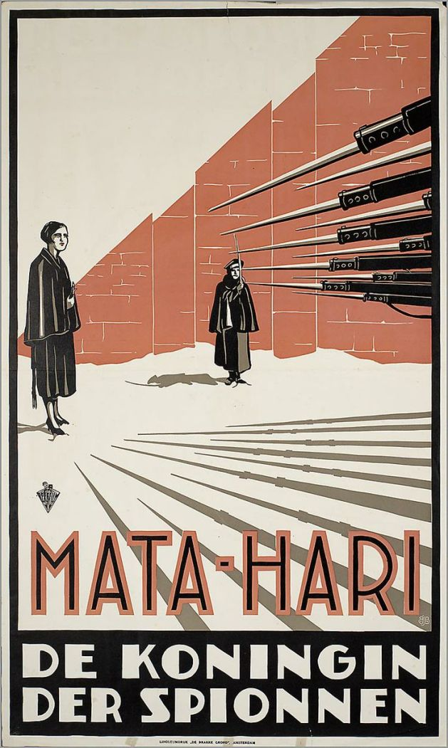 More myths and facts on Mata Hari on film | Ivo Blom